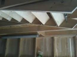electric attic stair in the garage youtube
