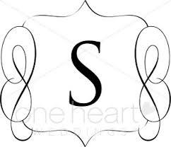 monogram letter s s monogram letters clipart