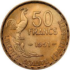 france 50 francs km 918 1 prices u0026 values ngc