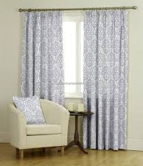 Pewter Curtains Belfield Furnishings Ledbury Curtain Fabric In Colour Pewter