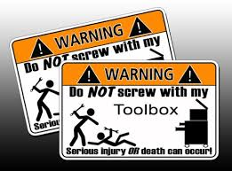 amazon box black friday funny toolbox warning sticker tool box wrench gauge hd cosmic