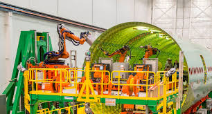 boeing video showcases robots that will help build 777 boeing