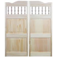 Home Depot Wood Doors Interior 32 X 42 Cafe U0026 Saloon Doors Interior U0026 Closet Doors The Home