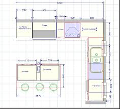Galley Kitchen Floor Plans Small Kitchen Blueprints Floor Plan The Challenger 2 Kitchen Fitout