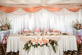 wedding chair and table setting at restaurant stock photo picture