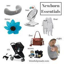 newborn essentials newborn essentials blissfullymade