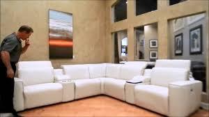 Palliser Miami Sofa Springfield Palliser 41638 Lfs Youtube