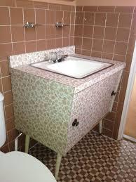 Best Retro Bathroom Ideas Images On Pinterest Retro - Amazing mid century bathroom vanity house