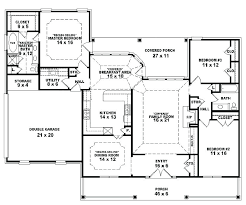 4 bedroom house plans one story single story 5 bedroom floor plans one story house plans unique 5