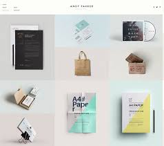 20 minimalist grid based portfolio wordpress themes web