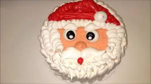 santa cake decoration youtube