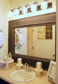 Unique Bathroom Mirror Frame Ideas 28 Ways To Refresh Your Bath On A Budget Bathroom Mirrors Bath