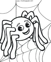 Spider Coloring Pages Scary Page Man Download 42 Wonderful Web Spider Web Coloring Page