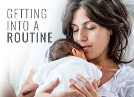getting into a routine baby s diary
