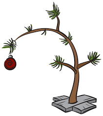 linus christmas tree brown christmas tree image christmas lights decoration