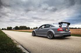 672hp mercedes benz clk63 amg black series wild ride