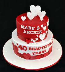 40th birthday cakes fabulous cakes