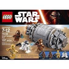 lego star wars droid escape pod 75136 walmart com