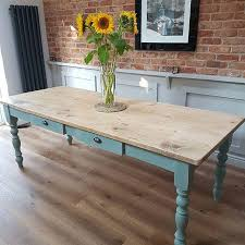 chalk paint farmhouse table reclaimed farmhouse tables old kitchen tables chairs benches uk