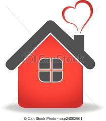 casa disegno logotipo cuore vettore disegno casa cuore casa vettore