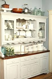 kitchen cabinet hutch lovely display in kitchen marble counters