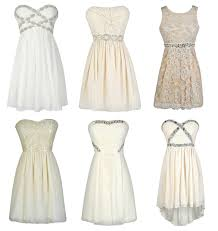 lovely rehearsal dinner dresses in shades of white ivory cream