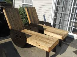 Diy Lounge Chair Diy Pallet Outdoor Lounge Chairs Made To Last 99 Pallets