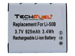 olympus vr 340 battery olympus vr 370 vr 360 vr 350 vr 340 replacement li 50b techfuel