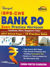 target ibps cwe bank po exam with practice workbook buy target