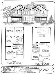 Multi Family Homes Floor Plans Potential For Rear Entry Two Car Garages Fir Single Family Homes