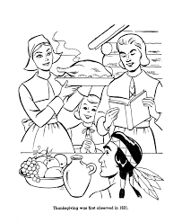 the thanksgiving coloring page sheets thanksgiving feast