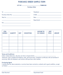 purchase order form sample mtas more
