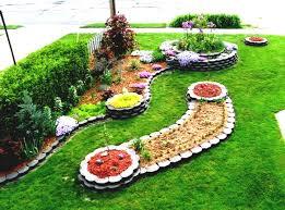 cheap flower bed ideas fabulous cheap garden ideas instead of