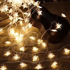 battery led string lights 6m 40leds fairy christmas lights star battery led string lights for