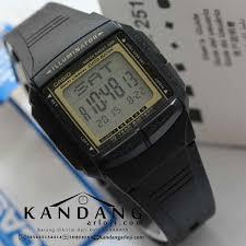 Jam Tangan Casio Karet casio digital jam tangan pria hitam karet db 36 1a daftar