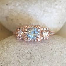 old fashion rings images Aquamarine rose gold ring art deco gatsby ring old world charm jpg