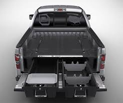 decked adds drawers to your pickup truck bed for maximizing storage space for our work vehicles