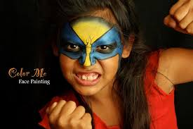 color me face painting home facebook