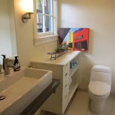 bathroom design trough sink bathroom with rectangular sink and