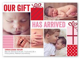 3x5 birth announcements u0026 baby birth announcement cards shutterfly