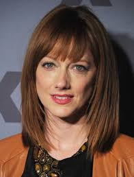 hairstyles for long hair with bangs round face