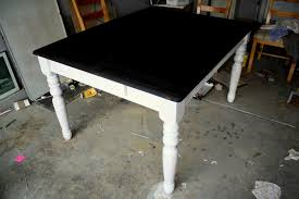 dining room table black refinishing the dining room table shannon claire