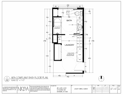 bath laundry floor plan ada compliant modified floor plan