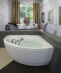 wonderful freestanding corner tub 25 59 averill freestanding