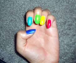 diy colorful nail art strikes u2013 raider echo