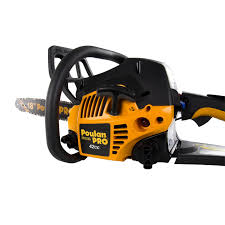 poulan pro 18 inch 42cc 2 cycle gas chainsaw certified
