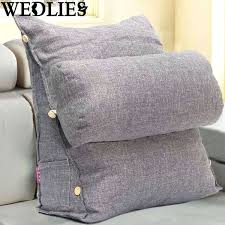 bed pillows bed rest pillow with arms and cup holder bed pillow with arms