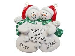 best friends ornaments rainforest islands ferry