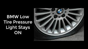 why is my tire pressure light still on reset bmw 335i tpms low tire warning light video youtube