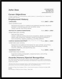 Teenage Resume For First Job by 5 How To Make Resume For First Job With Example Bussines How To